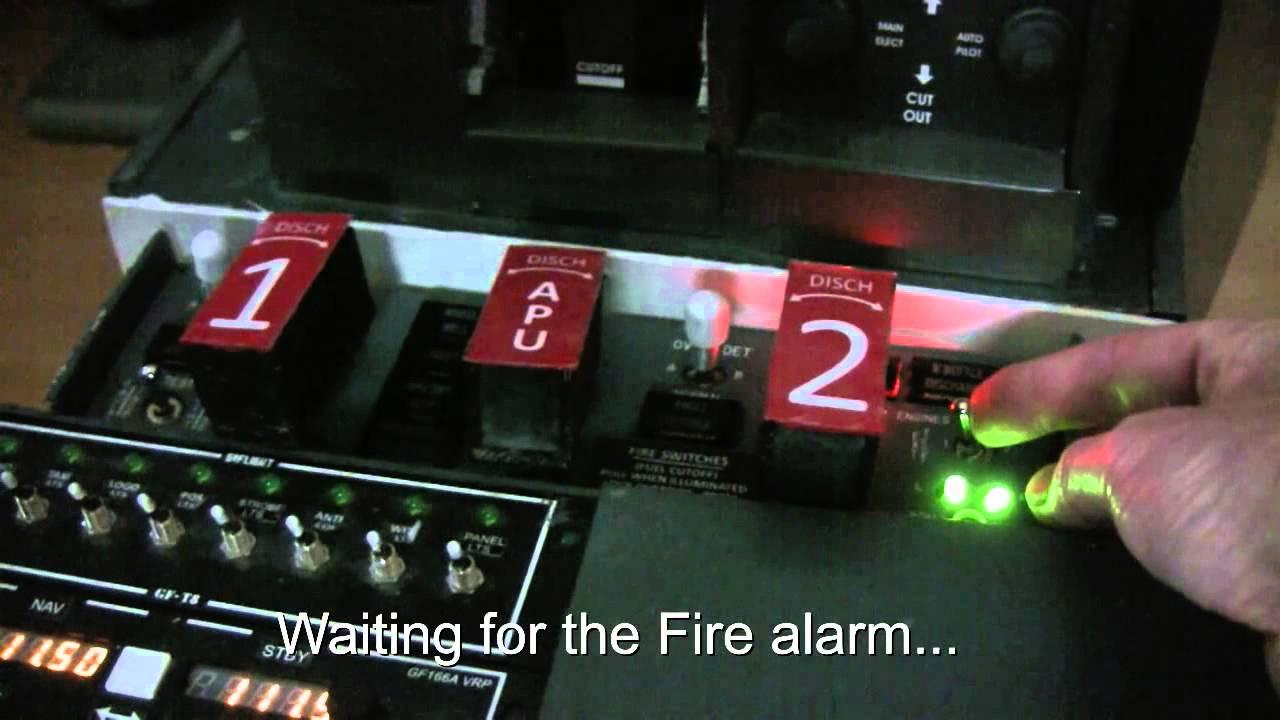 Fire Panel 737