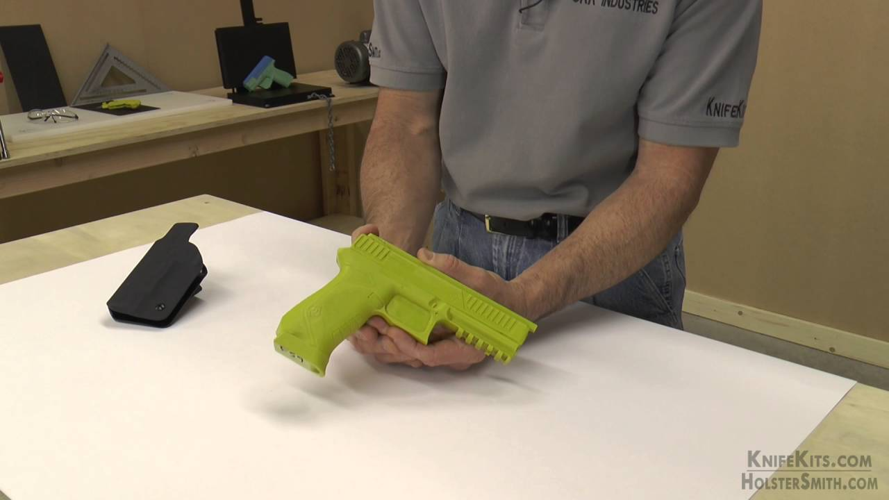 Cook's Gun Molds - Holster Molding Prop - for Kahr PM45 (Prepped