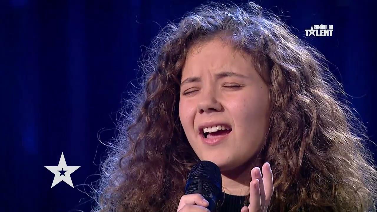 Românii au talent 2021: Andrada Olteanu a făcut-o pe Andra să aplaude în picioare