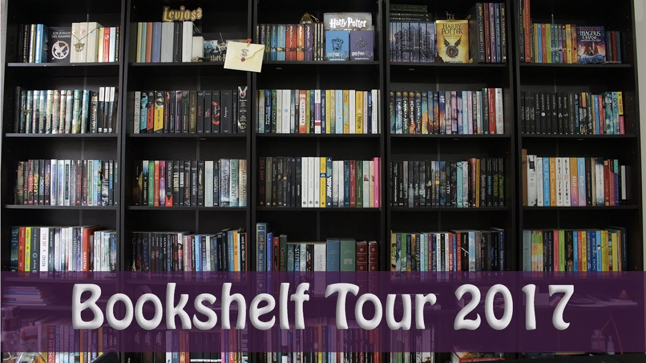 Jesse The Reader Bookshelf Tour