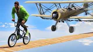 HIT THE TIGHTROPERS WITH PLANES! (GTA 5 Funny Moments)