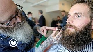 Master Barber Tames Wild Beard | CxBB VIP