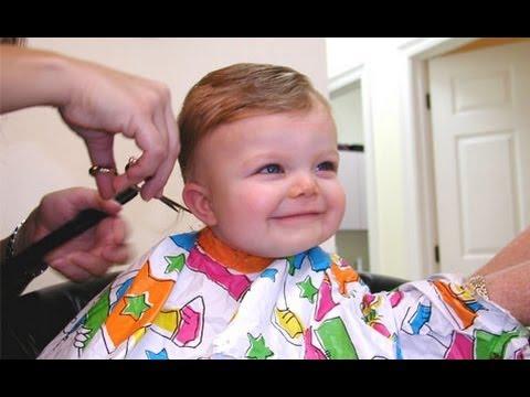 Corte cabello bebe 6 meses