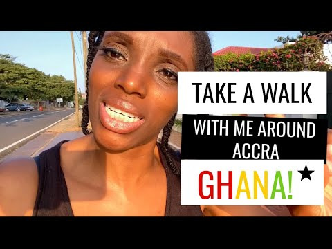Take A Walk With Me Around Accra, Ghana | Life In Ghana | Living in Africa | Ghana Vlog