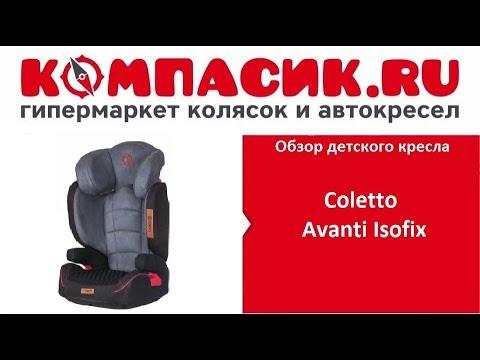 Вся правда об автокресле Coletto Avanti Isofix. Обзор от Компасик.Ру