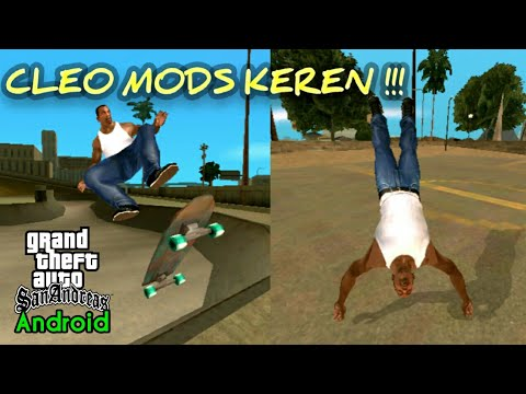 5 Cleo Mods Keren !!! GTA SA Android