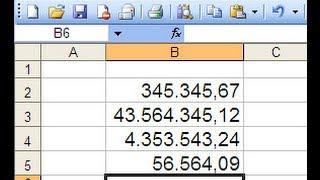 Cara Format Number di Microsoft Excel
