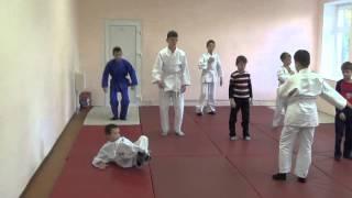 31.10.15. Открытое занятие по дзюдо: укеми. Centre Judo Kids. Feodosiya