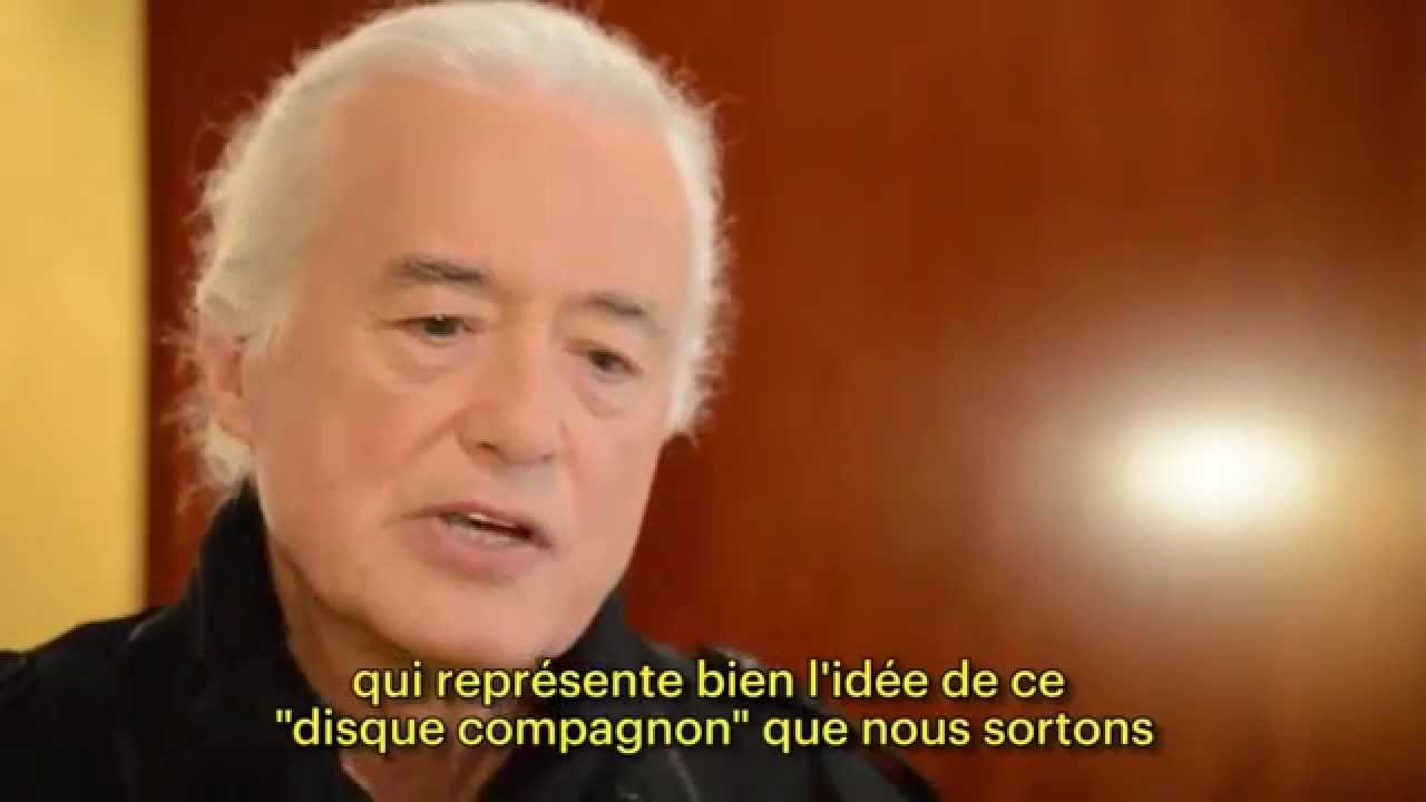 Jimmy Page, guitarist of Led Zeppelin - Post-it interview
