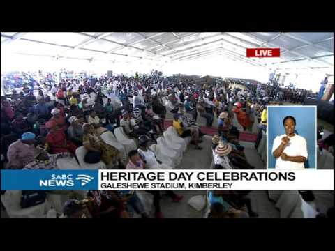 Cyril Ramaphosa's Heritage Day key note address
