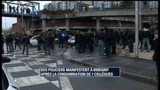 Prison ferme pour 7 policiers jugés à Bobigny