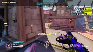 Overwatch Highlight Moira Blizzard World With Team Sorboons 09-18-19 - Ssr 1367
