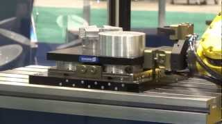 Repeat youtube video SCHUNK VERO-S Fanuc Robot cell @ IMTS