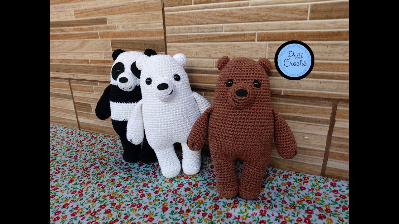 Amigurumi: Ursinho de Crochê com receita (Circulo S/A) - Como Fazer | 720x1280