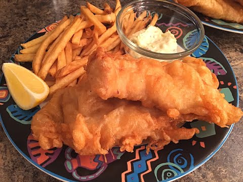 Beer Battered Fish Recipe- Perfect for your Fish & Chips - Episode #110