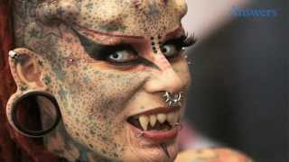 Extreme Body Modifications From Around The World