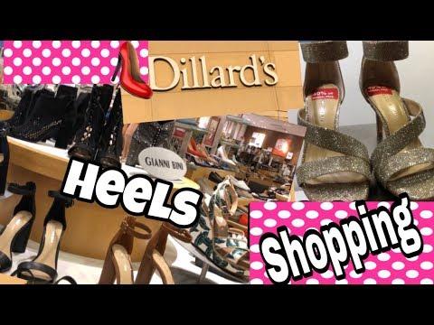 c78e299a752 Dillard's Shoes Shop With Me Heels   High Heel Shopping