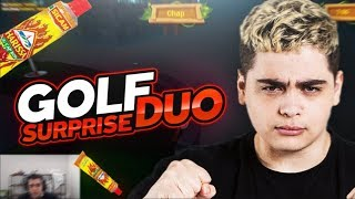 RETOUR DU GOLF DUO SURPRISE + DÉFI HARISSA DE KAMEL