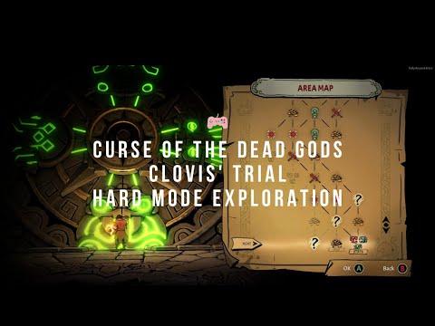 Curse of the Dead Gods - Clovis' Trial hard mode exploration - Clovis Pardieux, Champion of Death  