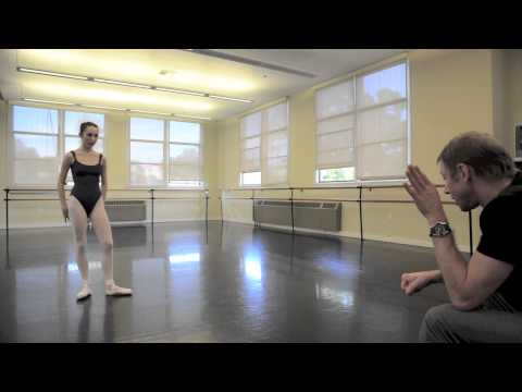 Rehearsing Talisman for YAGP - see what a private lesson is like. Robbie age 15