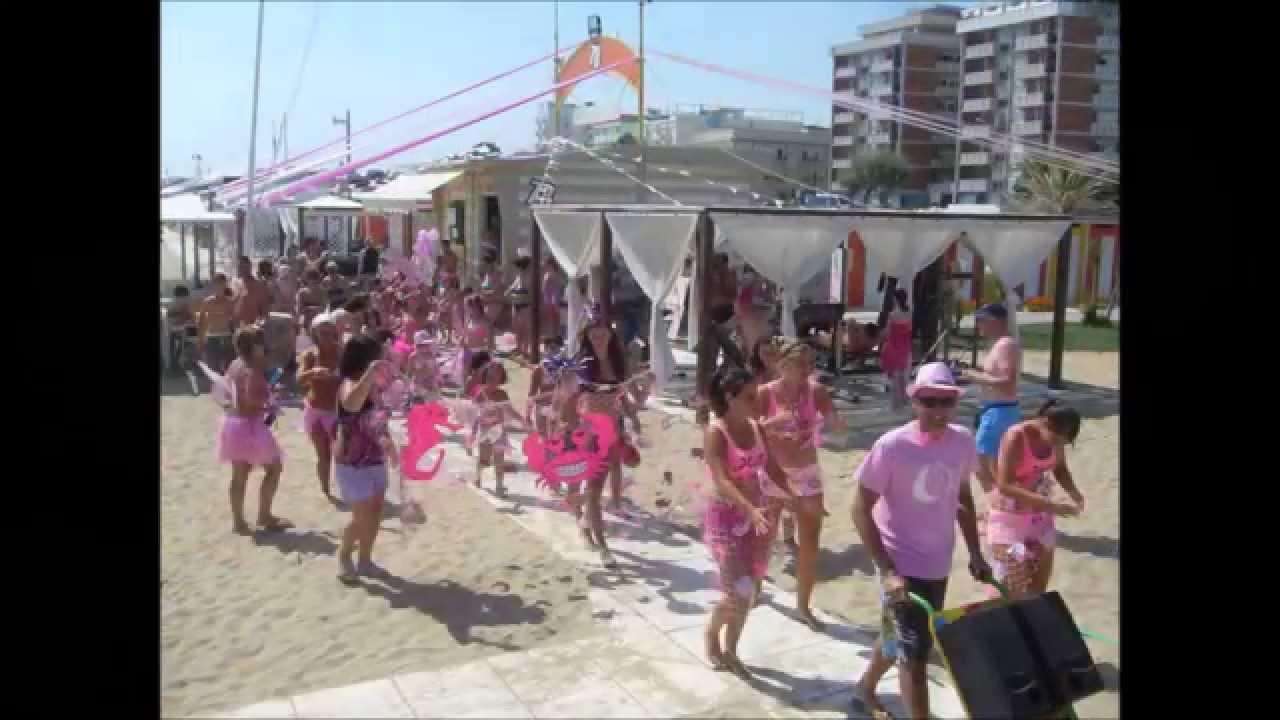 Notte rosa rimini 2015 bagno 78 sabbia d 39 oro youtube - Bagno 60 rimini ...