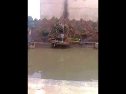 kolam air terjun (relief /tebing) - youtube