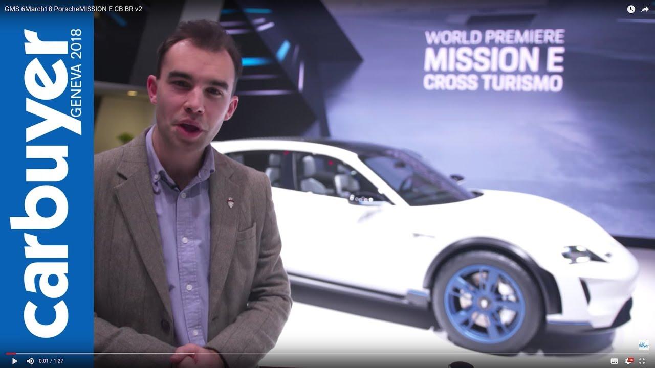 2018 Porsche Mission E Cross Turismo walkaround and interior –Geneva Motor Show 2018 - Dauer: 88 Sekunden