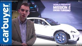 2018 Porsche Mission E Cross Turismo walkaround and interior –Geneva Motor Show 2018
