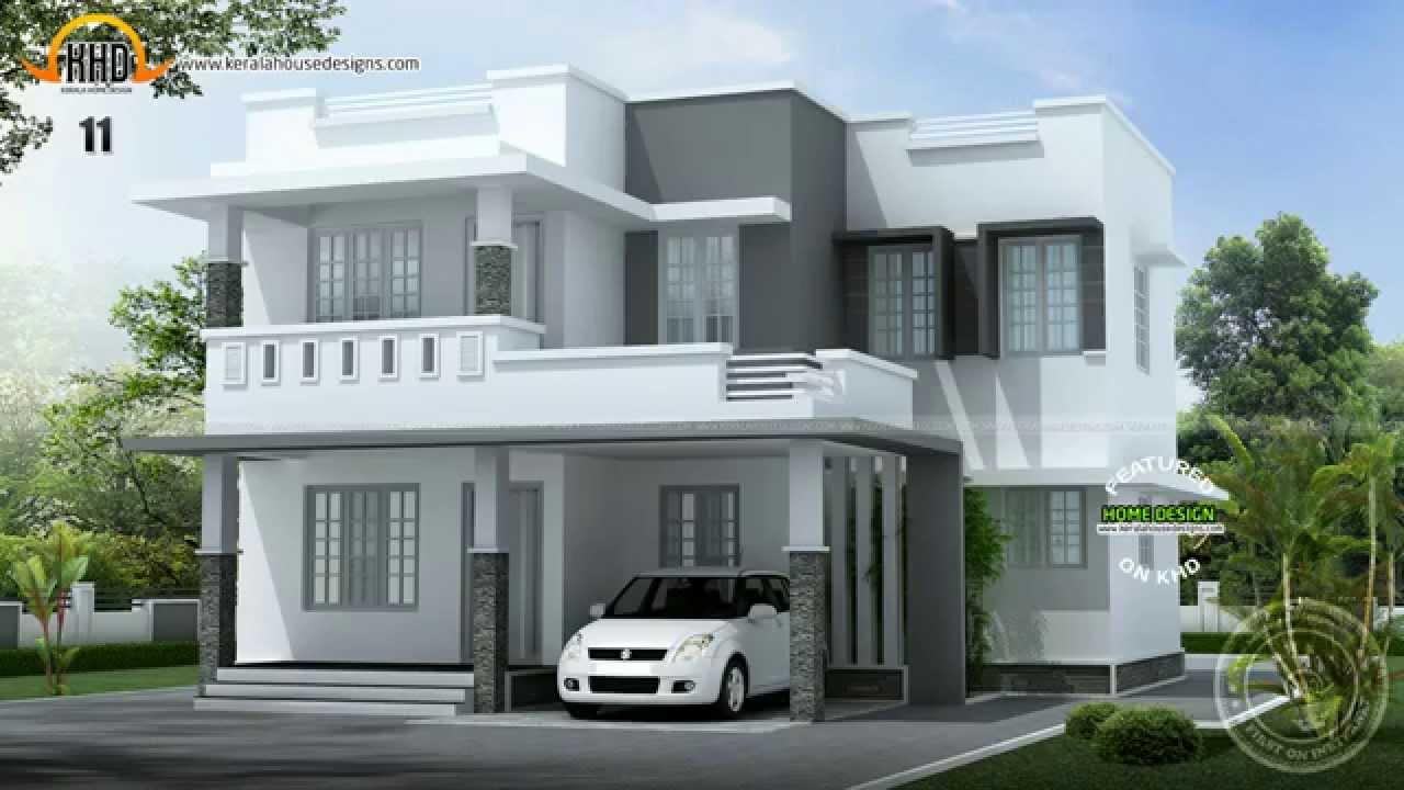 New Model Of House Design Kerala Home Design  House Designs May 2014  Youtube