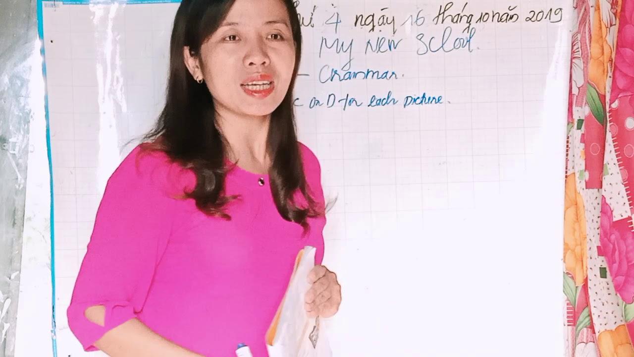 Hướng dẫn bài tập tiếng Anh lớp 6. unit 1 My New School. Đào Vlog.mp4