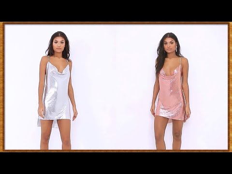 Gold and Silver Chainmail Dress    Relax 142 (HD)