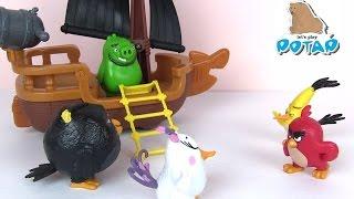 Энгри Бердс Мультик. Игрушки для Детей. Сюрприз Пакетики Злые Птички. Игры для Детей Angry Birds