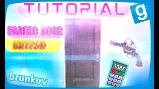 как сделать Fading Door и  поставить Keypad  ДАРК РП Tutorial  Garry's mod БРУНЬКОВ