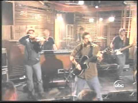 Pat Green - Wave On Wave   Live on Kimmel
