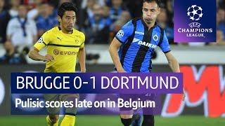 Club Brugge vs Dortmund (0-1) UEFA Champions League Highlights
