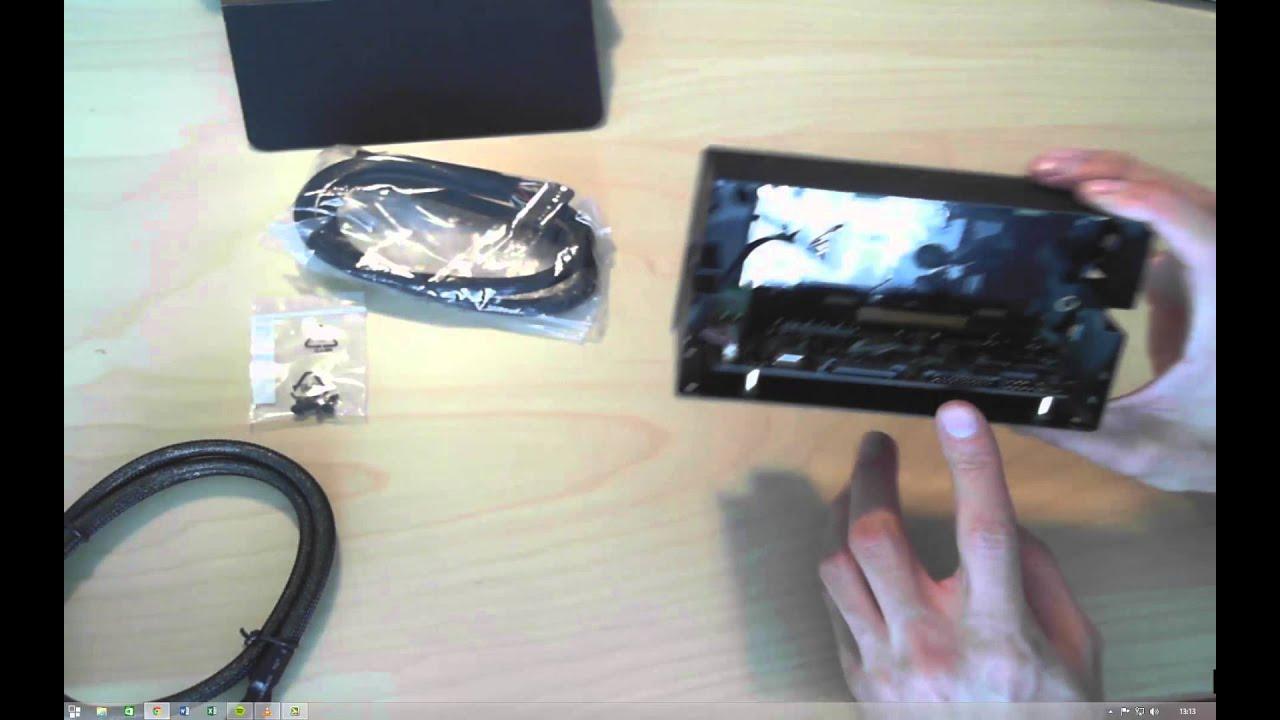 Asus ROG Front Base Dual-Bay Gaming Panel Multi function .