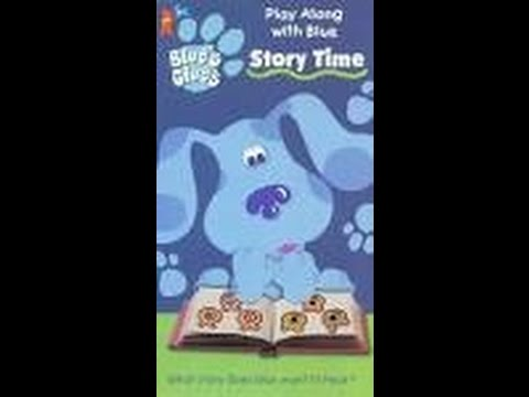 Opening to Blues Clues Story time 1998 VHS