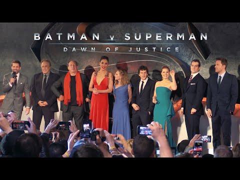 Batman v Superman : Dawn of Justice  - The European Movie Premiere in London