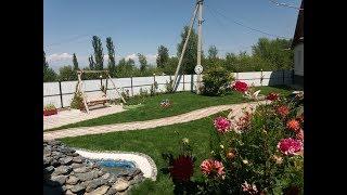 ландшафтный дизайн двора частного дома фото 6