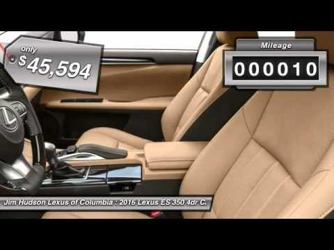 Great 2016 Lexus ES 350 Columbia SC 24601