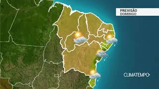 Previsão Nordeste - Sol e umidade elevada