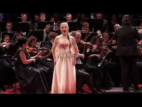 """Larisa Stefan - """"Der Holle rache"""",  opera """"Die Zauberflote""""; W. A. Mozart"""