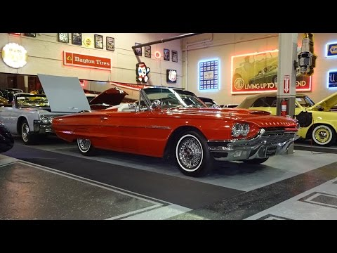 1964 Ford Thunderbird T Bird Convertible With Engine Start Up On My Car Story With Lou Costabile