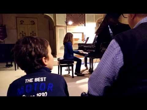 Primo saggio pubblico. Scuola di Musica Mabellini. Siria - Bartók,  Schumann