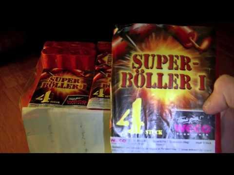 150 Donnerschläge MEGA-Knall Sortiment Unboxing 2014