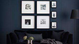 Ikea Ideas:how To Hang Pictures For A Foolproof Finish