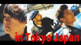 「in Tokyo Japan」げんじ & JORDAN & Carlos