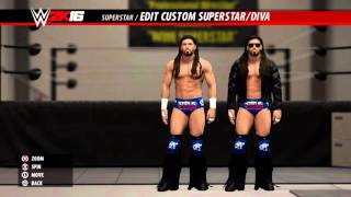 RTW 2K16: Caw Update 18 - DLC Pack 1 (WWE 2K16 - PS4 Community Creations)