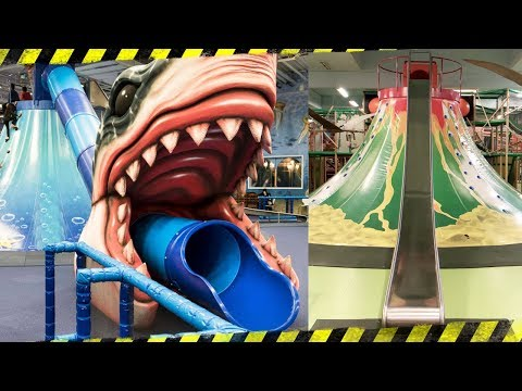 Toy Hunting At HUGE Indoor Playground For Kids With Toys!