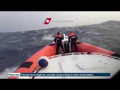 Palermo - Peschereccio disperso, secondo corpo trovato in mare vicino Ustica